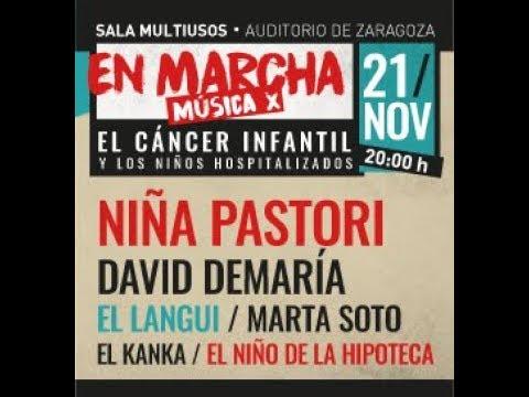"""El 21 de noviembre tenemos una cita en Zaragoza en la gala benéfica """"¡En Marcha! Música x el Cáncer Infantil"""""""